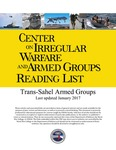 Trans-Sahel Armed Groups by Center on Irregular Warfare & Armed Groups