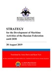 Strategy for the Development of Maritime Activities of the Russian Federation until 2030